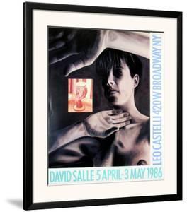 At Leo Castelli's, 1986 by David Salle