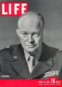 Gen. Dwight D. Eisenhower., April 16, 1945 by David Scherman