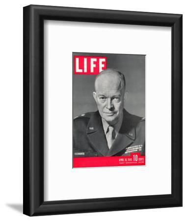 Gen. Dwight D. Eisenhower., April 16, 1945