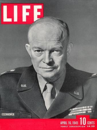 Gen. Dwight D. Eisenhower., April 16, 1945