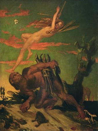 Ariel and Caliban, 1837