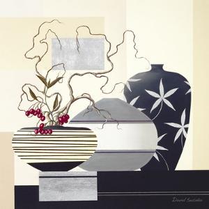 Twigs & Berries I by David Sedalia
