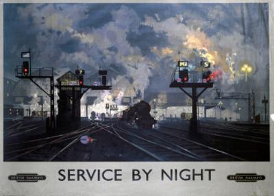 Service by Night, BR, c.1955