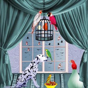Bird Dogs VIII by David Sheskin