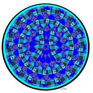 Cat Mandala XVII by David Sheskin