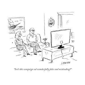 Cartoon by David Sipress