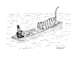 Lincoln faces off against Life of Pi - Cartoon by David Sipress