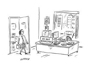 New Yorker Cartoon by David Sipress