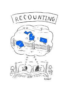 Recounting - Cartoon by David Sipress