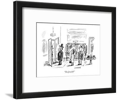 """Too Jewish?"" - New Yorker Cartoon"