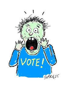 VOTE! - Cartoon by David Sipress
