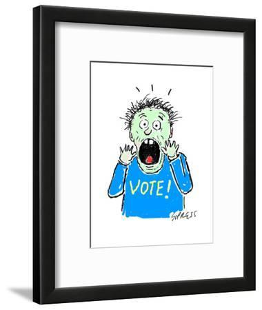 VOTE! - Cartoon