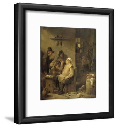 Bricklayer Smoking a Pipe, 1630-60