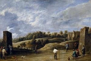 David Teniers / The Archery Contest, ca. 1645 by David Teniers