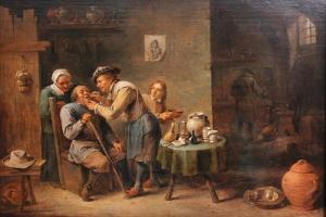 The Dentist by David Teniers