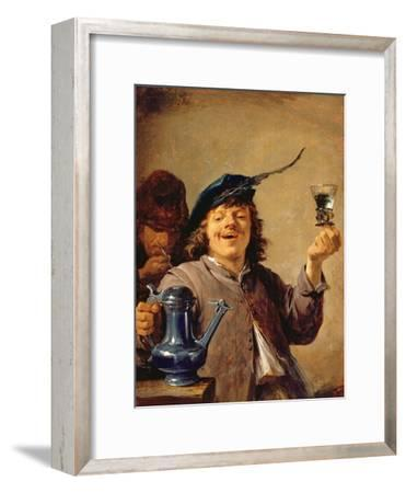 A Merry Drinker with an Old Smoker