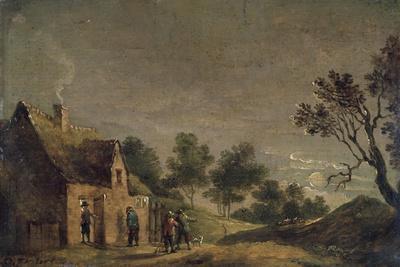 A Tavern at Night, 17th Century