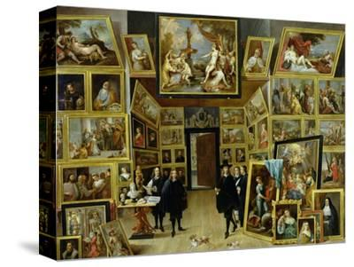 Archduke Leopold Wilhelm (1614-61) in His Picture Gallery, circa 1647