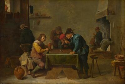 Backgammon Players, C. 1645
