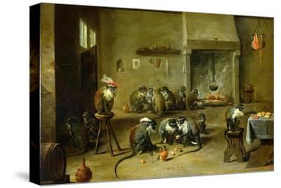 Monkeys in a Kitchen, circa 1645