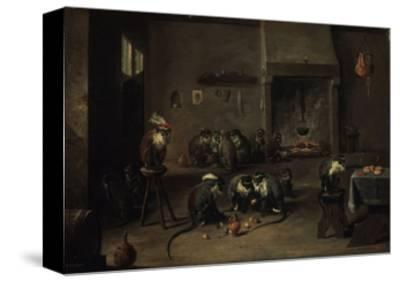 Monkeys in the Kitchen, 1640S