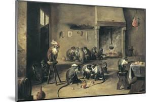 Monkeys in the Kitchen by David Teniers the Younger