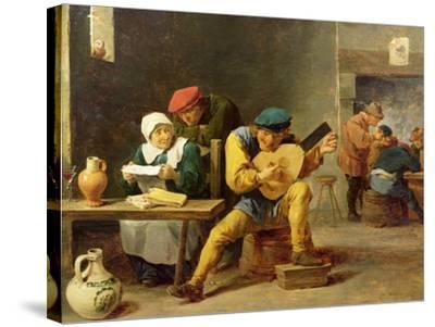 Peasants Making Music in an Inn, c.1635