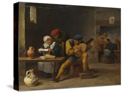 Peasants Making Music in an Inn, C. 1635