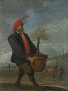 Spring (From the Series the Four Season), C. 1644 by David Teniers the Younger