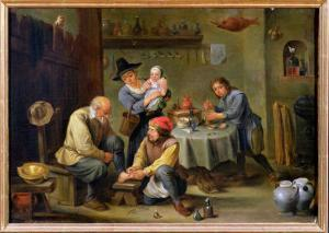 Surgeon Tending the Foot of an Old Man by David Teniers the Younger