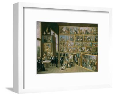 The Archduke Leopold Wilhelm (1614-62) in His Picture Gallery in Brussels, 1651