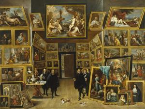 The Gallery of Archduke Leopold Wilhelm by David Teniers the Younger