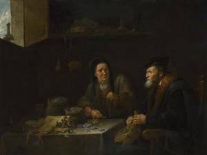 The Parable of the Rich Fool, 1648 by David Teniers the Younger