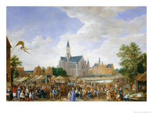 The Potters' Fair at Ghent by David Teniers the Younger