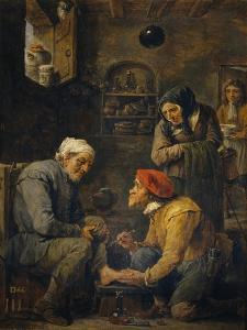 The Surgeon, 1630-1640 by David Teniers the Younger