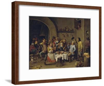 Twelfth Night Party, 1650-1660