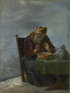 Winter (From the Series the Four Season), C. 1644 by David Teniers the Younger