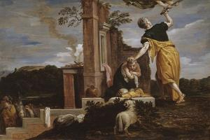 Abraham's Sacrifice of Isaac, 1654-56 by David the Younger Teniers