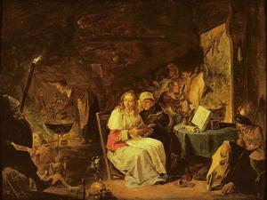 Incantation Scene by David the Younger Teniers