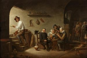 Interior of a Tavern, C.1640 by David the Younger Teniers