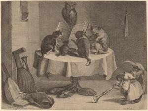 The Cat's Concert by David the Younger Teniers