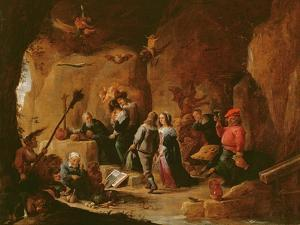 The Temptation of St. Anthony by David the Younger Teniers
