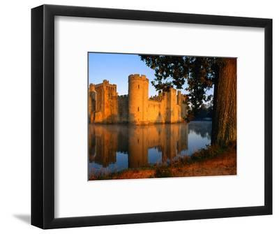Bodiam Castle Reflected in Moat, East Sussex, England