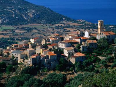 Hillside Village, Aregno, Corsica, France