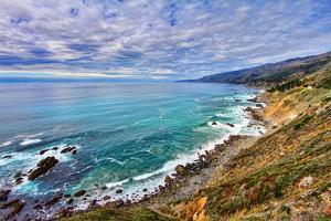The Pacific Ocean by David Toussaint