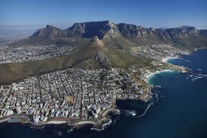 Bantry Bay, Clifton Beach, Lion's Head, Cape Town, South Africa by David Wall