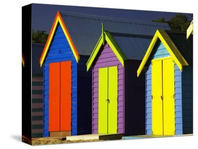 Bathing Boxes, Middle Brighton Beach, Melbourne, Victoria, Australia