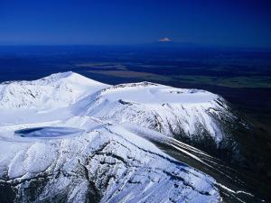 Blue Lake on the Summit of Mt. Tongariro, Manawatu-Wanganui, New Zealand by David Wall