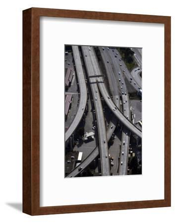 California, San Francisco, Aerial of the Alemany Maze Interchange