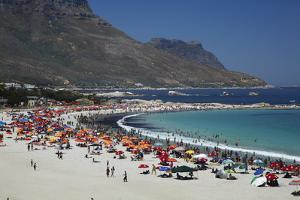 Camps Bay, Cape Town, South Africa by David Wall
